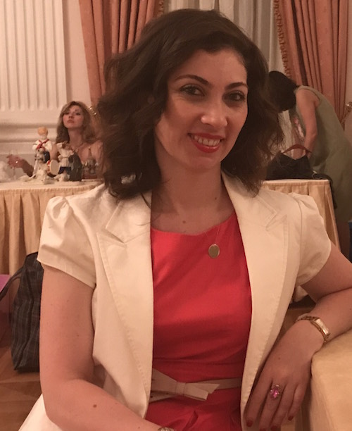 Charity Co-chair at the IWC Moscow