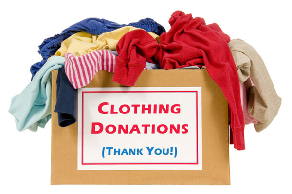 Clothing-Donation for kids and adults for the IWC Moscow